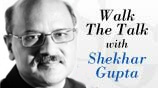 Walk the talk with Shekhar Gupta