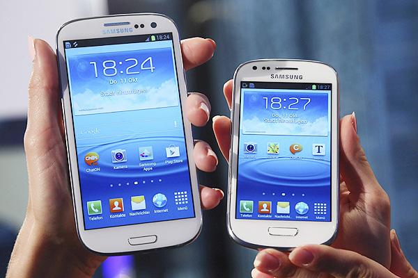 Samsung Galaxy S3 and Samsung Galaxy S3 mini
